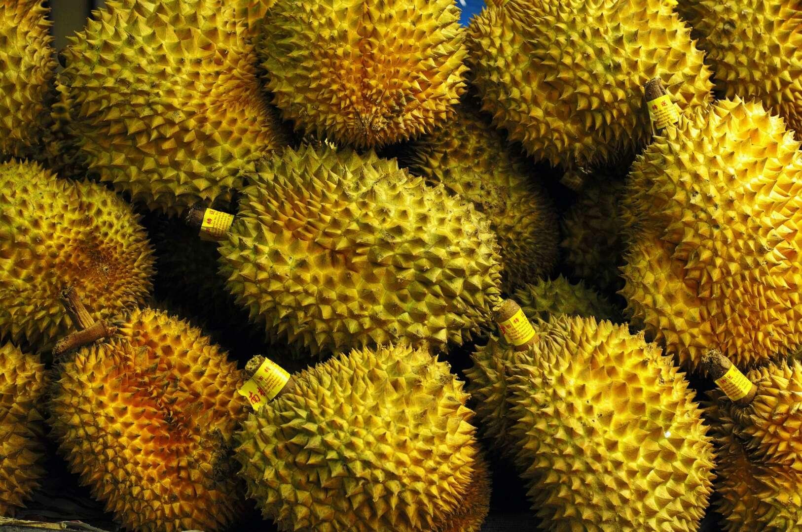 泰国进口新鲜水果金枕头榴莲 2-9斤一个航空包邮坏果包赔