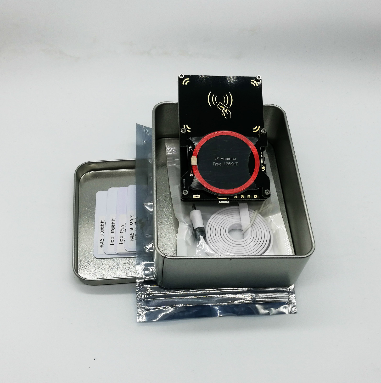 读卡全加密卡解密门禁车库电梯卡防复 ICID 5.0 4.0 Proxmark3 PM3