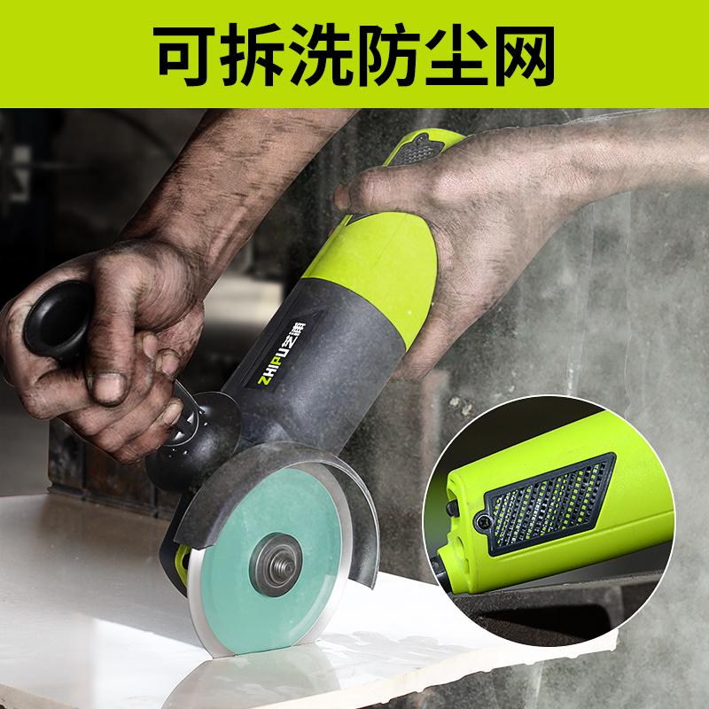 芝浦切割机多功能家用角磨机磨光机手磨机抛光机小型手砂轮打磨机