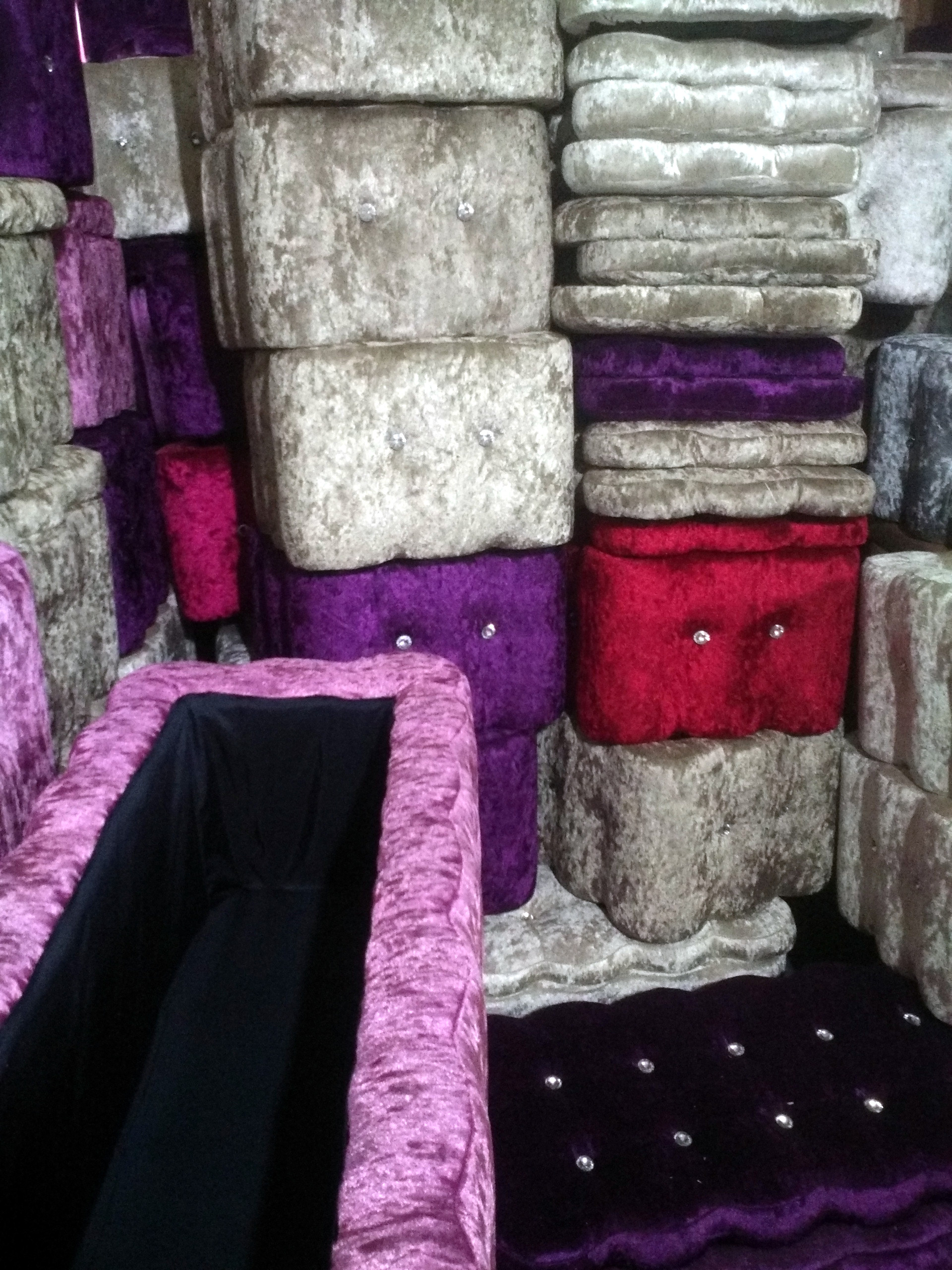 服装店家具试鞋凳 时尚布艺实木大沙发椅 试衣间储物简约凳子包邮