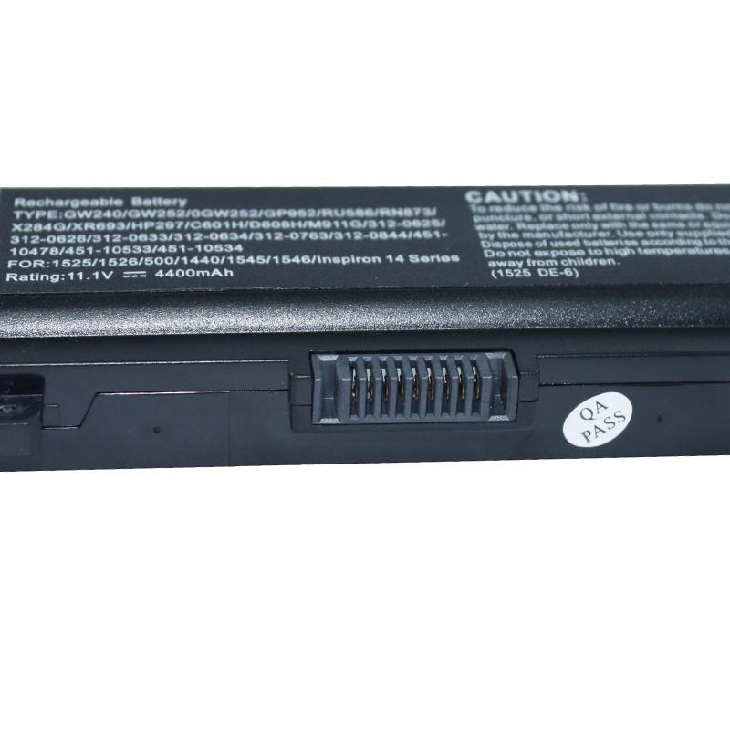 DELL戴尔K450N X284G 1525 1440 1750 1545 1546 GW240笔记本电池