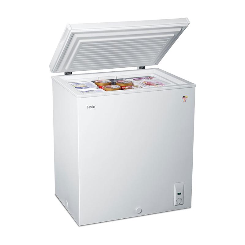 102HT BD BC 海尔 Haier 海尔冰柜家用小型冷柜冷藏冷冻节能迷你