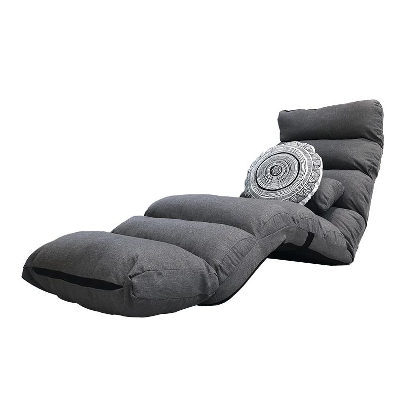 懒人沙发单人卧室阳台日式榻榻米女孩小沙发网红款小户型折叠躺椅