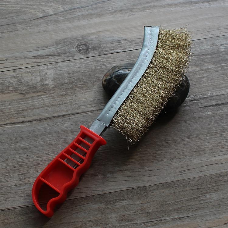 钢丝刀刷不锈钢丝刀刷刀型不锈钢钢丝刷子铜丝刷刀形除锈刷清缝刷
