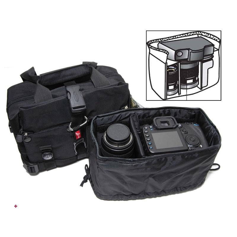 吉尼佛51170摄影包5D3 750D数码包单肩单反相机包便携斜跨多用包