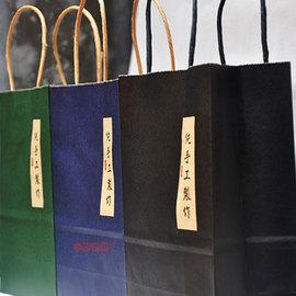 西点盒饼干桶手提袋 纯手工制作手提袋 手工食品包装 收纳购物袋