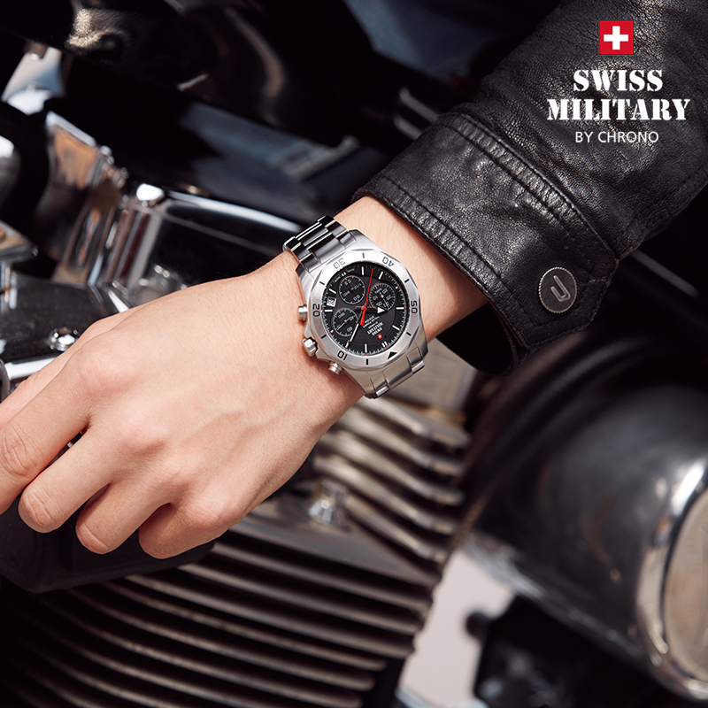 瑞士军表SMA手表男士十大品牌名表正品光动能运动户外多功能防水