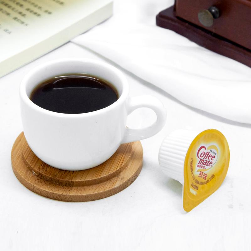 雀巢咖啡伴侣奶原味奶球10ml*50粒液态奶油球植脂奶精球奶包500ml
