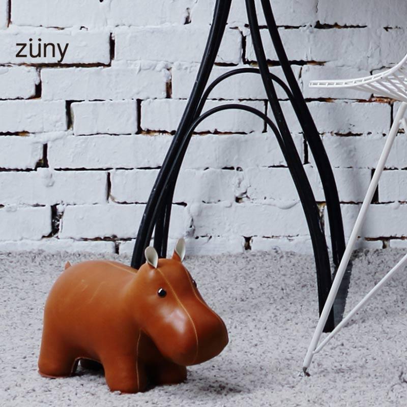 女友生日礼物礼品男生手工制作动物玩偶门档长颈鹿猩猩河马