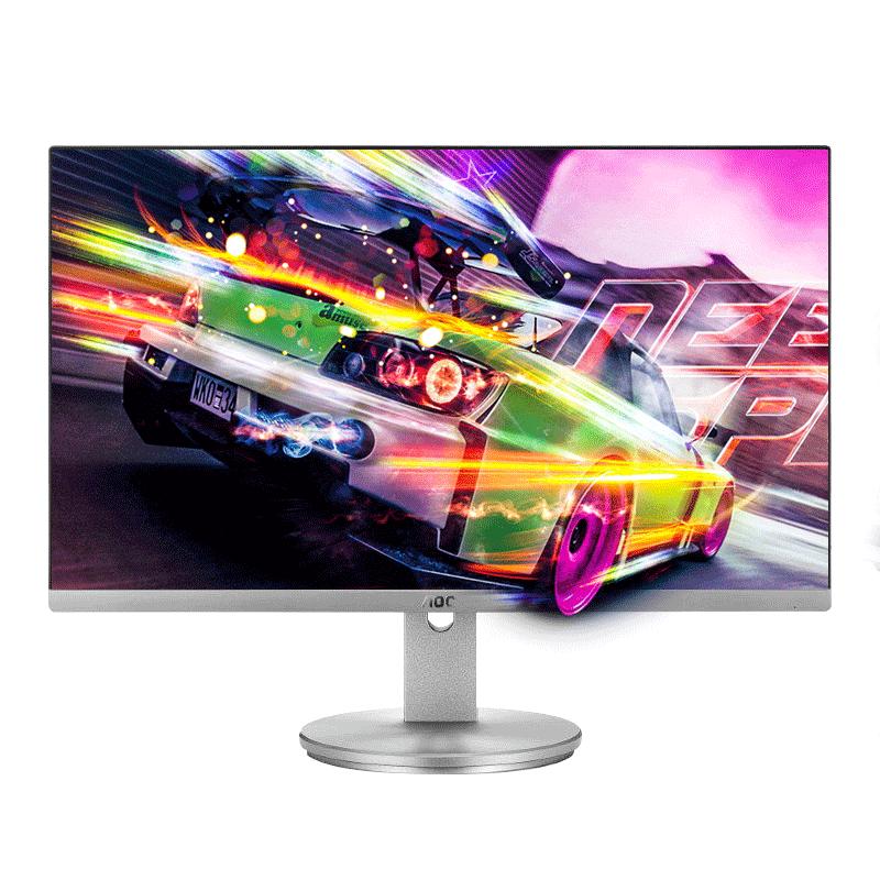 屏愛眼屏幕液晶顯示器 IPS 英寸臺式電腦顯示器高清 23.8 I2490 AOC