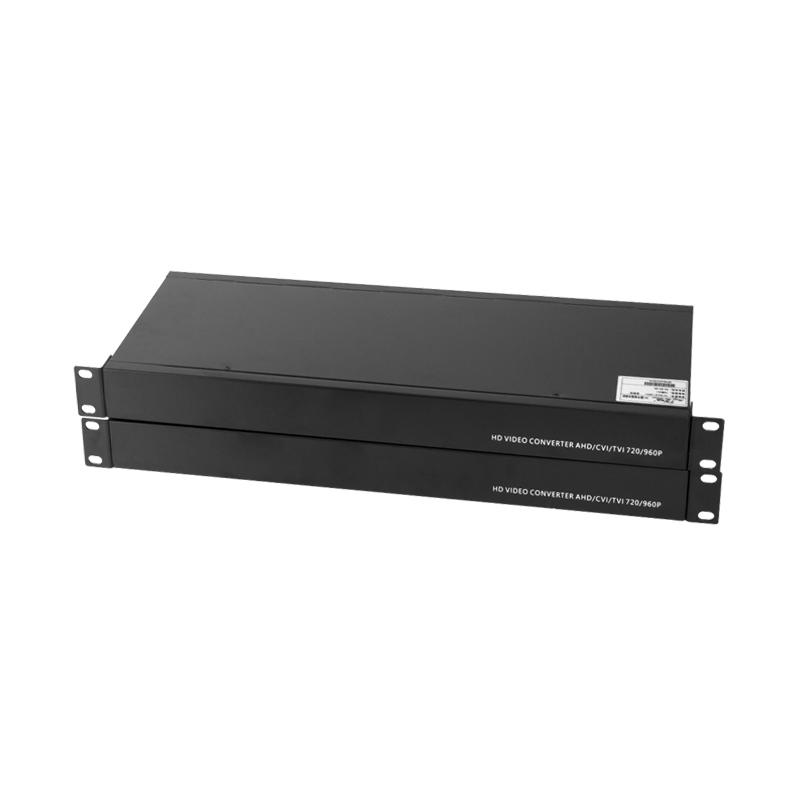 对 AHD1 雄迈 CVI 视频光端机支持大华同轴摄像机 HDCVI 路 16 汤湖
