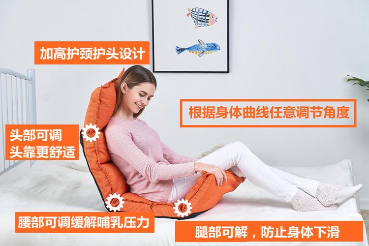 喂奶神器喂奶椅子床上哺乳椅孕产妇月子护腰靠背喂奶凳婴儿哺乳枕