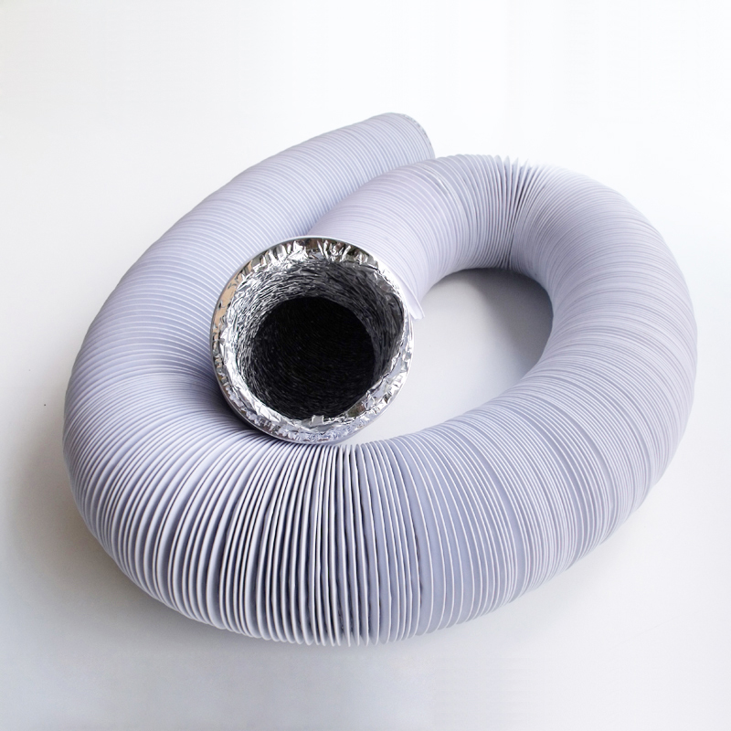 10 cm diameter exhaust pipe vent pipe 4 inch thick aluminum foil pipe exhaust fan ventilation hose with connector 3 m