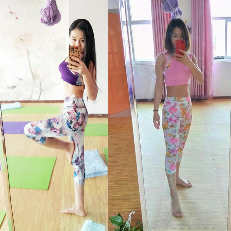 瑜伽服套装女春夏新款健身房运动初学者速干网纱罩衫时尚性感大码