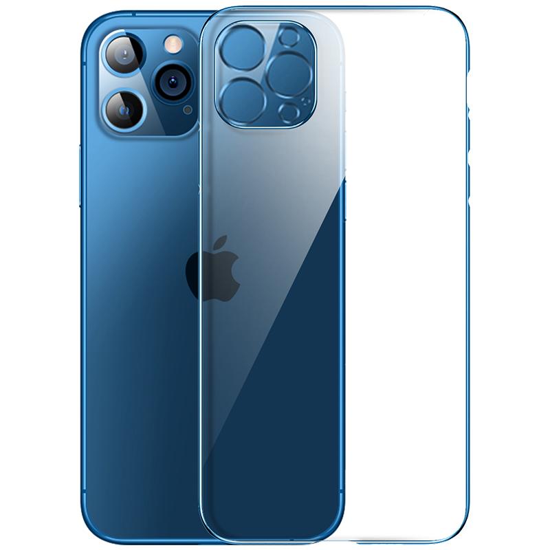 图拉斯iPhone12手机壳苹果12ProMax玻璃Pro透明Max防摔Mini超薄套保护镜头全包2021年新款网红女男十二高级感 No.4