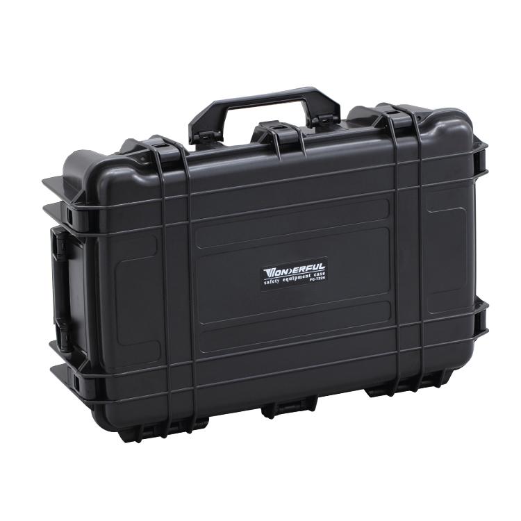 万得福防潮箱相机单反镜头设备无人机飞行器拉杆箱安全箱 PC-7226