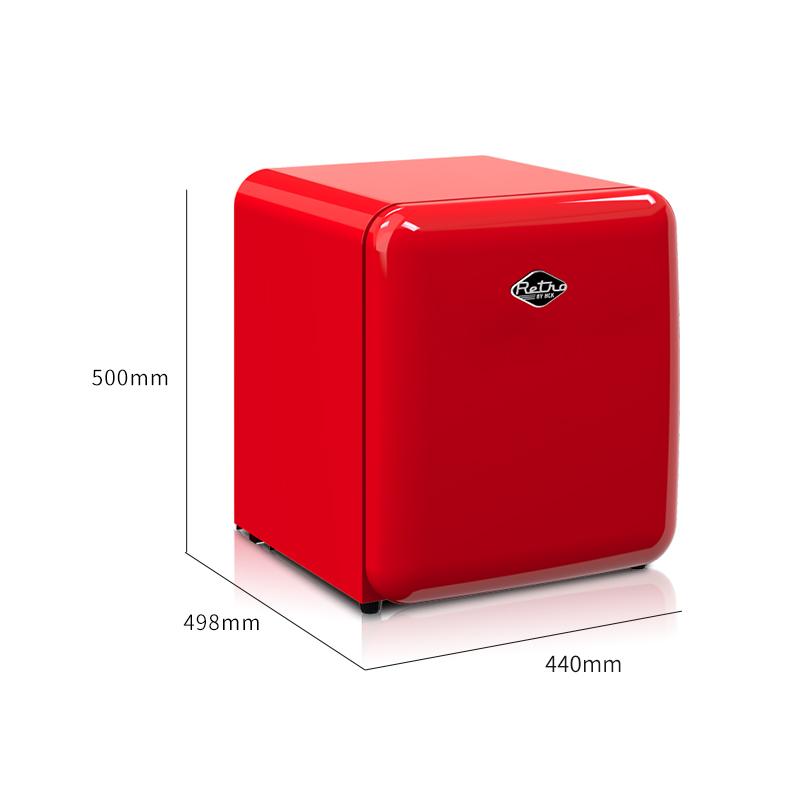 HCK哈士奇 BC-46COC 復古冰箱小型美妝化妝護膚品面膜冷藏家用柜