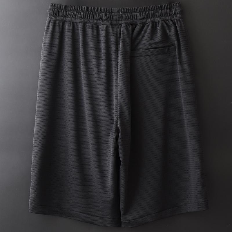 大裤衩子男士冰丝短裤夏季2020新款外穿宽松休闲速干运动5五分裤【图3】