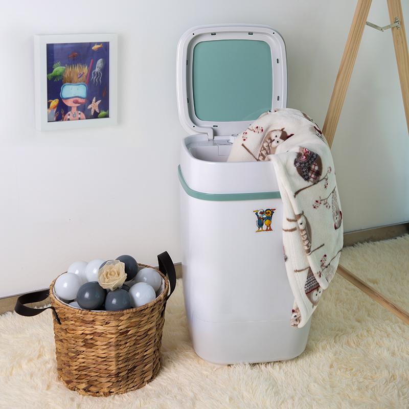 小鸭牌XPB35-1708小型婴儿童内衣裤单筒桶家用半全自动迷你洗衣机
