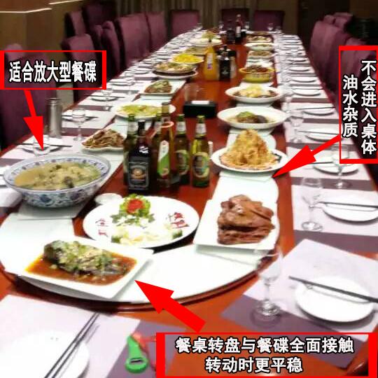 回转长方形桌 传送带旋转桌 条形电磁炉火锅桌 椭圆电动餐桌