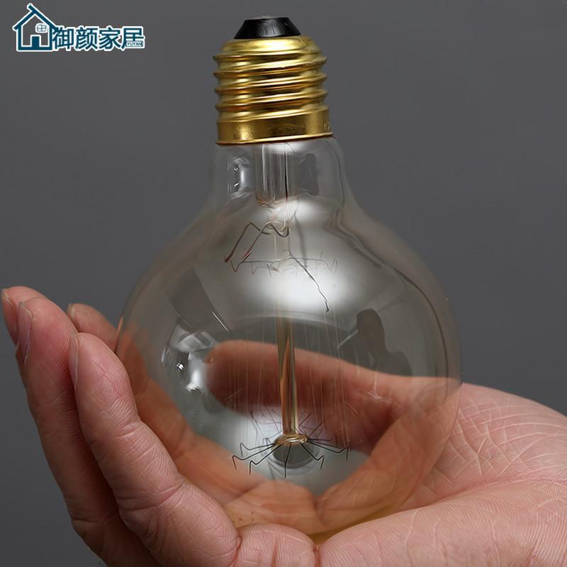 爱迪生灯泡 电灯泡创意艺术装饰白炽灯钨丝灯E27螺口个性复古光源
