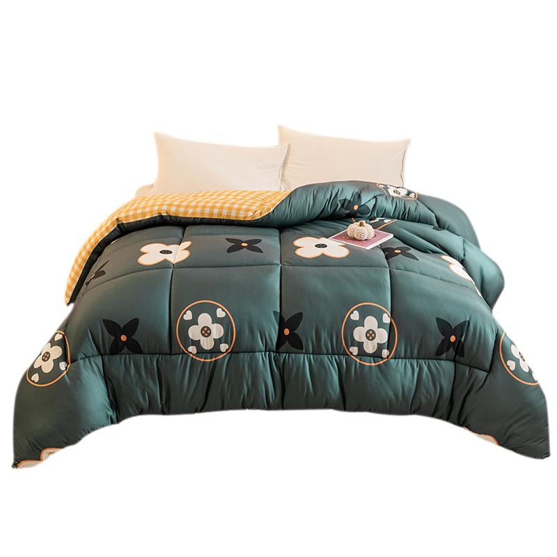 南极人空调被子冬被芯四季通用加厚保暖学生宿舍单人棉被褥春秋被 - 图0