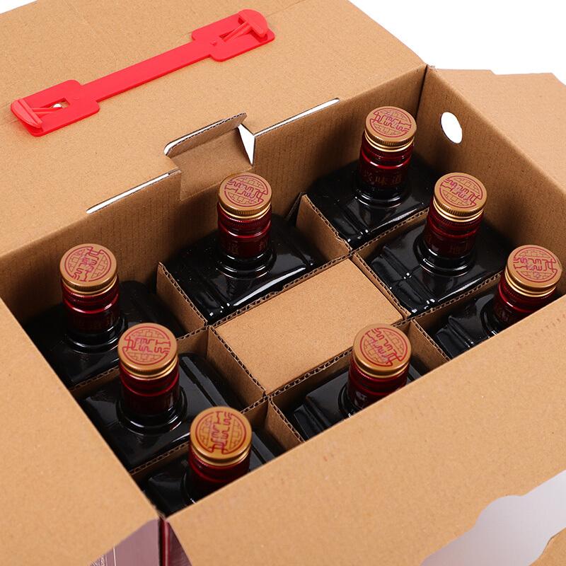 瓶加饭酒要引子整箱装 8 500ml 年陈老酒 5 绍兴黄酒花雕酒 女儿红