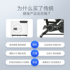 Golden Rod M-BOX Small Home Spinning Aerobic Exercise Bike Foldable Weight Loss Device Magnetic Control Mute