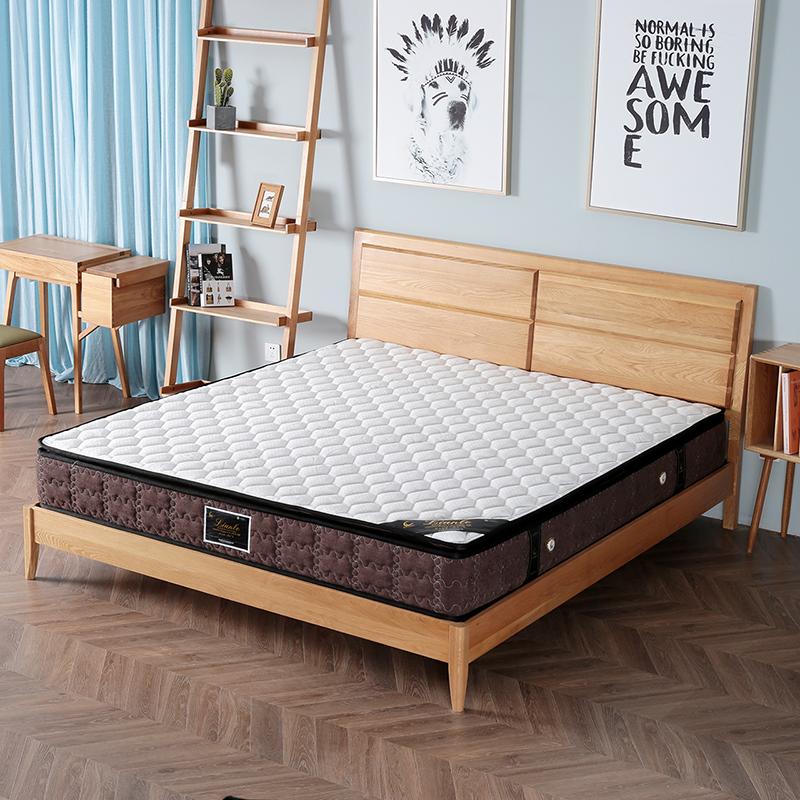 联乐天然乳胶床垫椰棕弹簧1.5m1.8米双人席梦思软硬两用 造梦者
