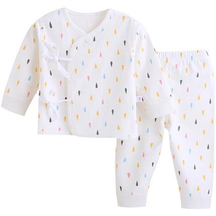 剛出生嬰兒衣服0-3月新生兒內衣春秋寶寶套裝純棉初生冬季女男孩