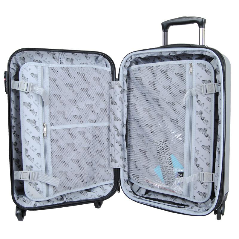索奥前置电脑拉杆箱男女士商务旅行登机箱包学生行李箱万向轮20寸