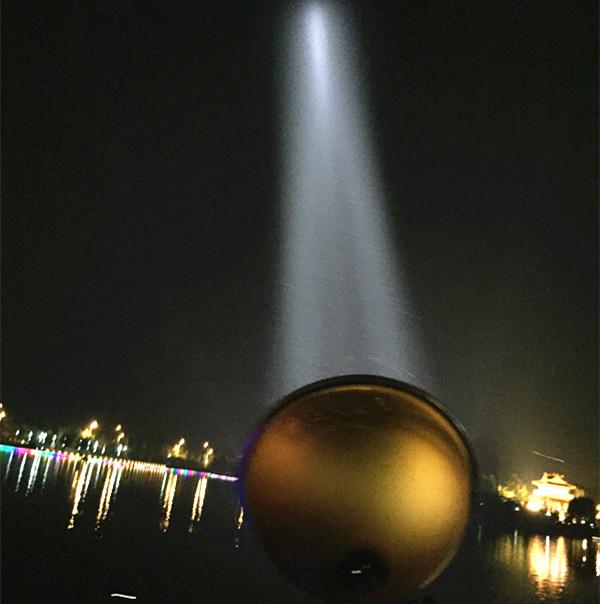 瓦 55 黑坑 200W 钓鱼灯氙气灯强光疝气夜钓灯超亮诱鱼黄白紫蓝暖光