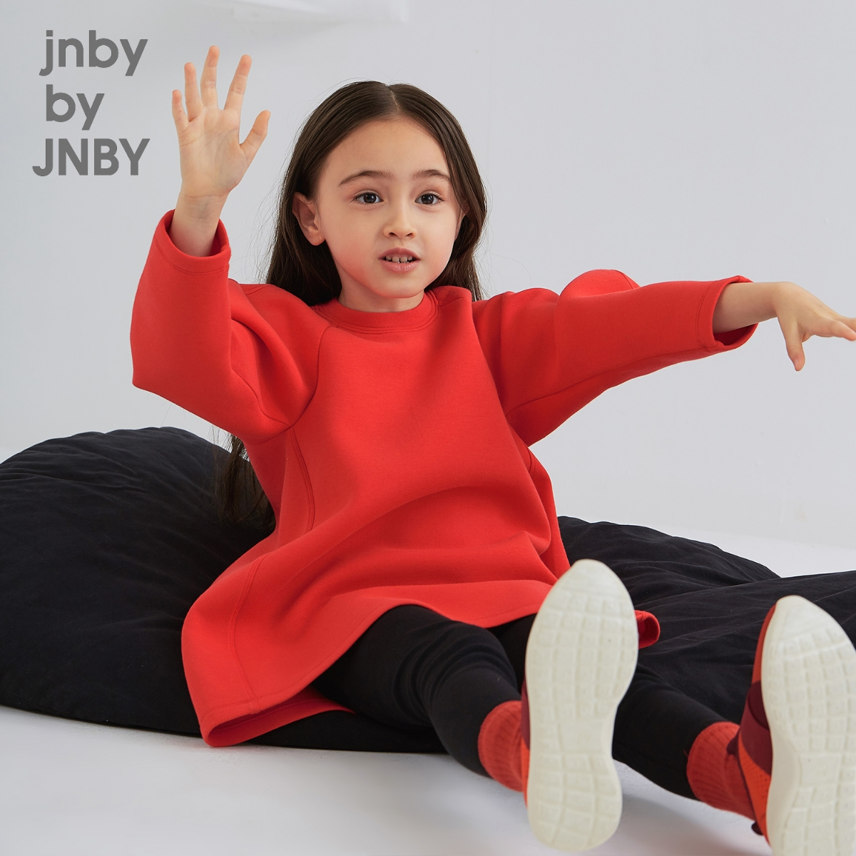 时尚挺括儿童针织长裙