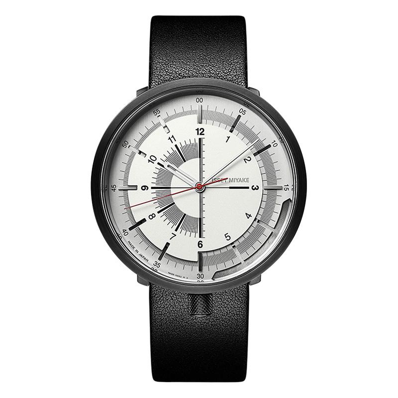 「新品」Issey Miyake三宅一生手表 日本手表皮带情侣手表机械表