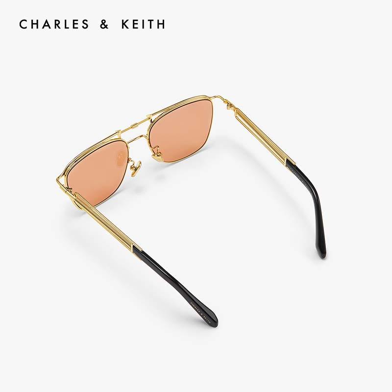 金属时尚方形女士太阳眼镜 11280374 CK3 墨镜 KEITH & CHARLES