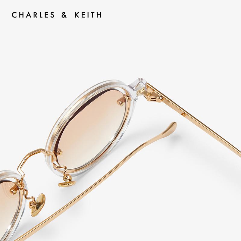 方形镜片细框女士太阳眼镜 41280407 CK3 新品 KEITH2020 & CHARLES