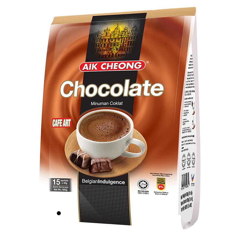马来西亚原装进口益昌香浓热巧克力粉早餐可可粉冲饮袋装烘焙原料