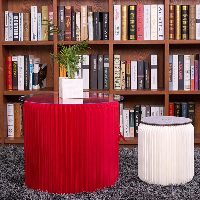 十八纸客厅抖音ins茶几 北欧沙发圆茶几 卧室移动桌咖啡桌小家具