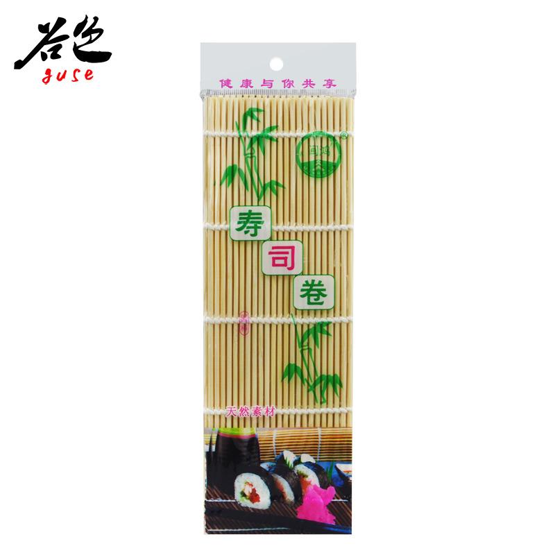 【谷色】10份包邮 寿司竹帘 卷帘 白皮帘子 纯竹木打造