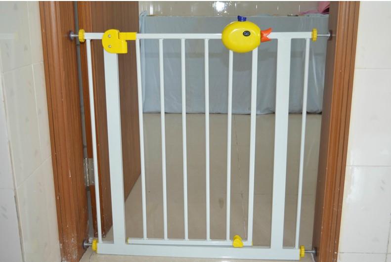 官方正品小鸭款 babysafe儿童安全门栏自动回关宠物楼梯护栏杆