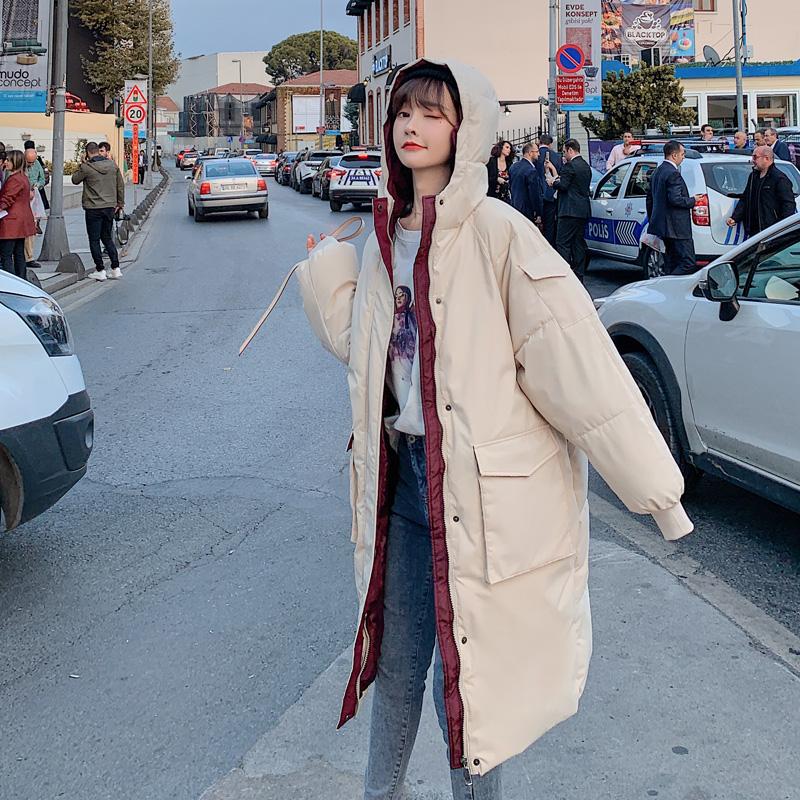 反季羽绒棉衣棉服女韩版宽松冬季外套冬装清仓棉袄 年新款女装  2020