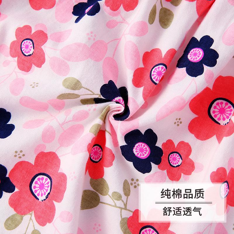 婴儿短袖裙0-6女童连衣裙纯棉小儿童裙子夏公主3-4一岁宝宝夏装女