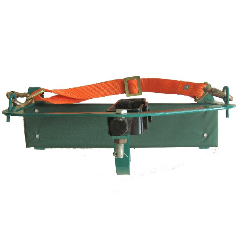 华泰 电工滑椅高空滑板单轮电工吊椅 钢绞线滑车 双轮电工滑车
