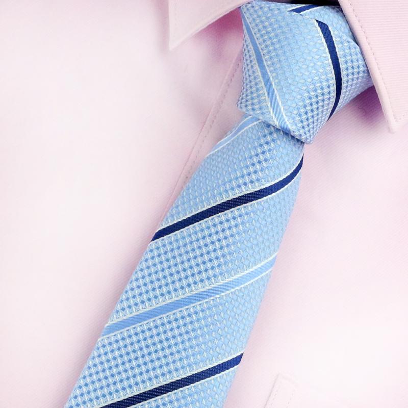 带带帅包邮窄小领带 男韩版时尚休闲 男女细领带 纯色黑5cm礼盒装