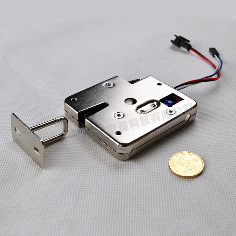 智能电控锁 自动售货机锁 存包柜智能箱柜电磁锁HT6513厂家pifa