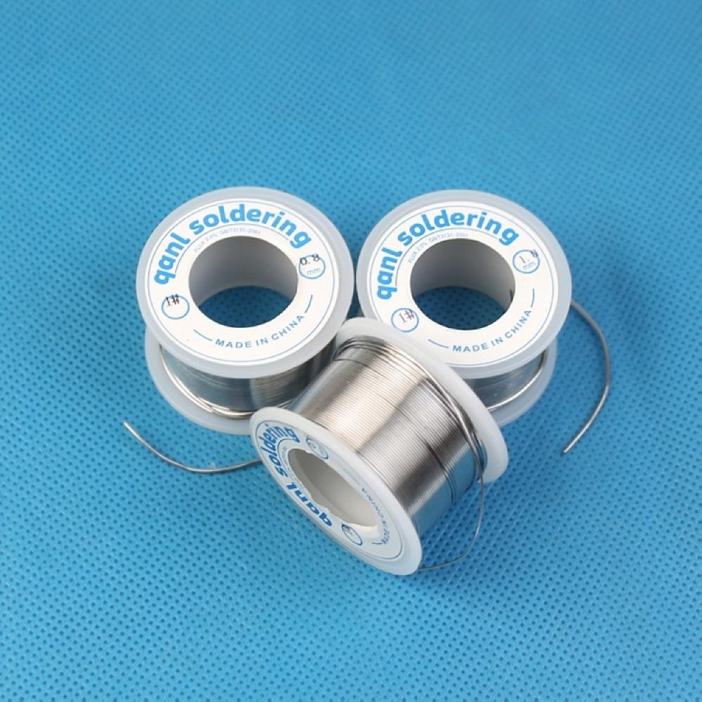 正品强力焊锡 1# 焊锡丝 含松香芯 0.5mm 0.8mm 1.0mm 重量70g