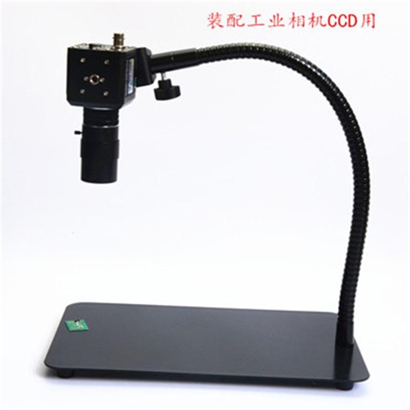 夹式工业相机CCD单筒镜头数码支架 万向升降柱OK41仪器件万能支架
