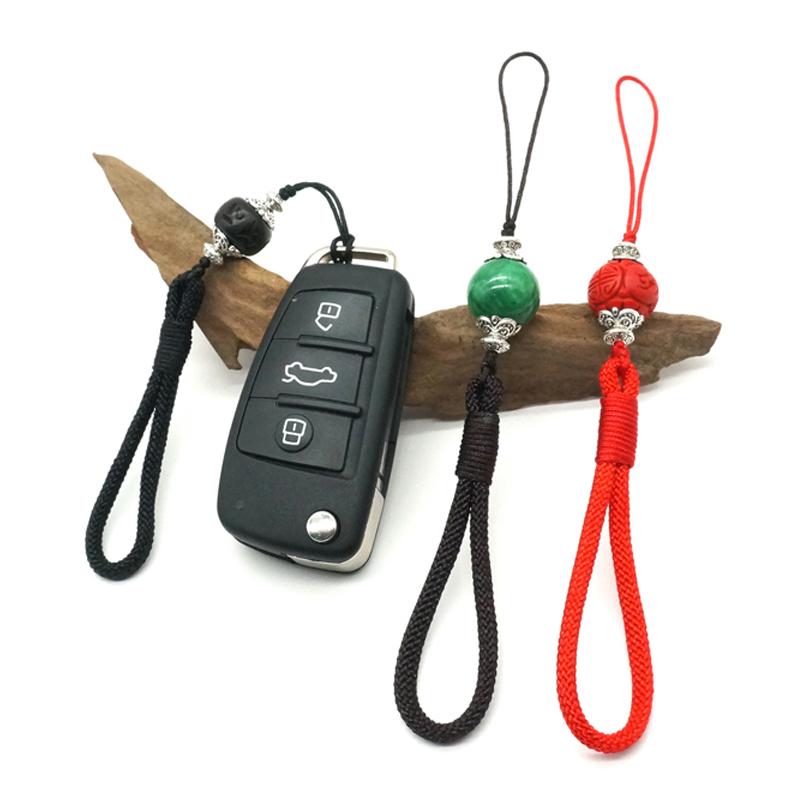 短款手绳文玩挂绳原创精品手把件手机书签车钥匙配饰挂件短绳精品