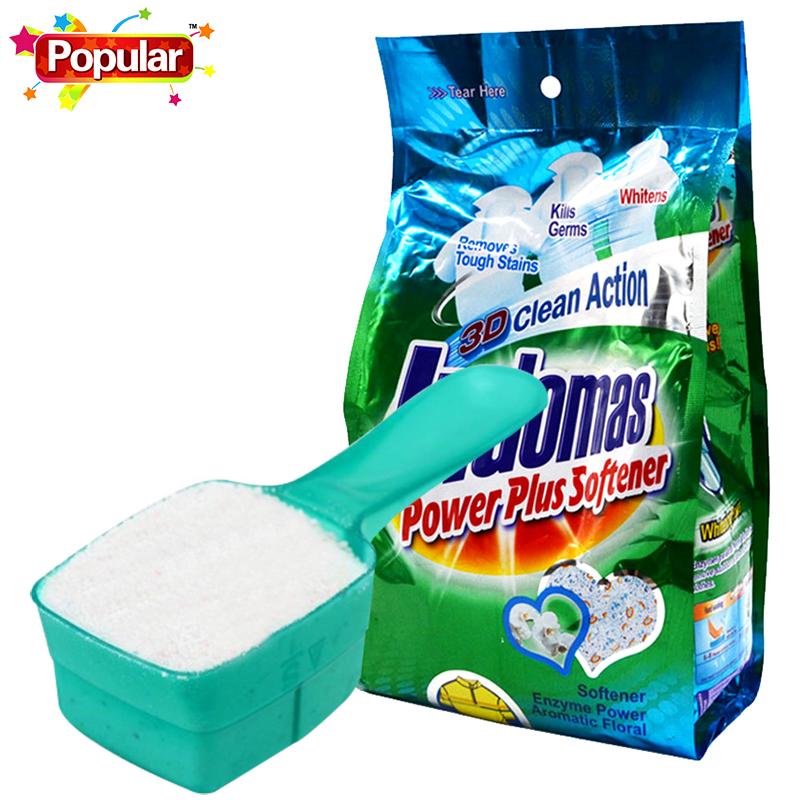 泡飘乐原装进口浓缩洗衣粉880g袋装家用去污易漂洗无磷