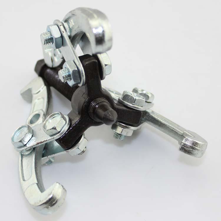 三爪拉马 轴承拆卸工具 拉拔器三角拉马器二抓两爪小拉玛顶拔器